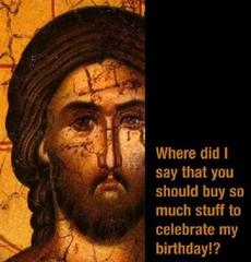 Jesus at Chrismas